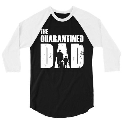 The Quarantined Vintage 3/4 Sleeve Shirt Designed By Pinkanzee