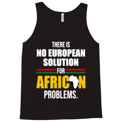 No  Solution For African Tank Top Designed By Pinkanzee