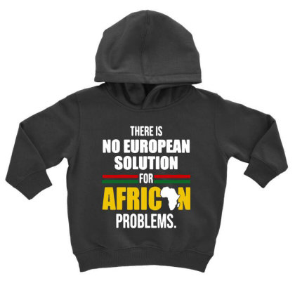 No  Solution For African Toddler Hoodie Designed By Pinkanzee