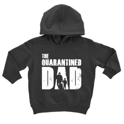 The Quarantined Vintage Toddler Hoodie Designed By Pinkanzee