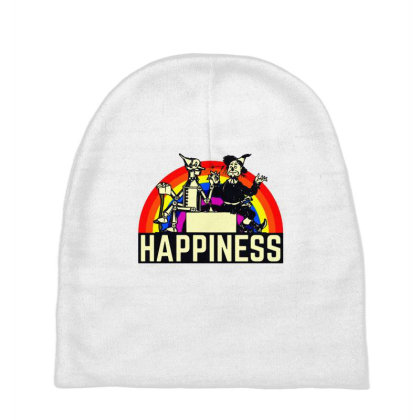 Happiness Anime Baby Beanies Designed By Pinkanzee