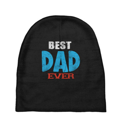 Best Dad Ever Baby Beanies Designed By Pinkanzee