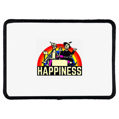 Happiness Anime Rectangle Patch Designed By Pinkanzee