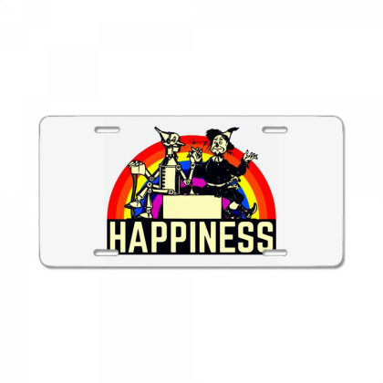 Happiness Anime License Plate Designed By Pinkanzee
