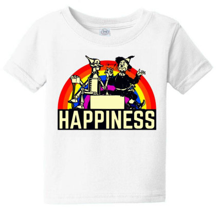 Happiness Anime Baby Tee Designed By Pinkanzee