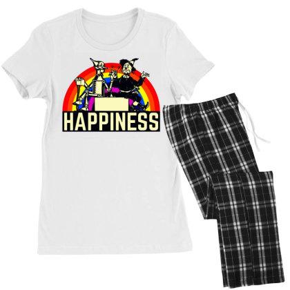 Happiness Anime Women's Pajamas Set Designed By Pinkanzee