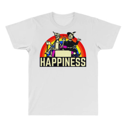 Happiness Anime All Over Men's T-shirt Designed By Pinkanzee