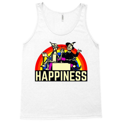 Happiness Anime Tank Top Designed By Pinkanzee