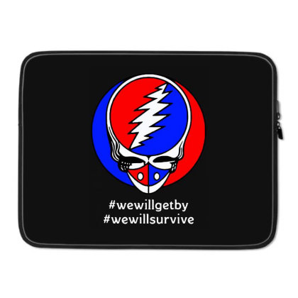We Will Survive Laptop Sleeve Designed By Pinkanzee