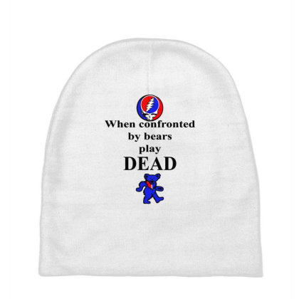 Bears Play Dead Baby Beanies Designed By Pinkanzee