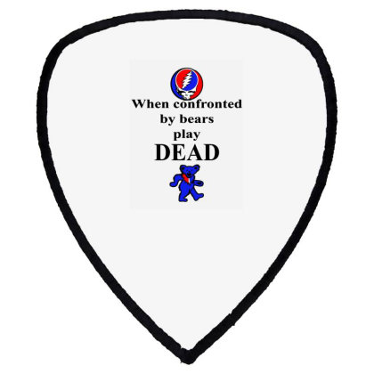 Bears Play Dead Shield S Patch Designed By Pinkanzee
