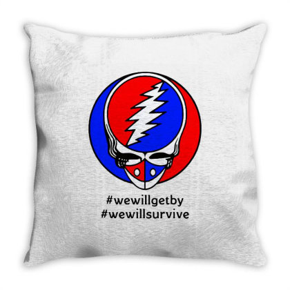 We Will Survive Throw Pillow Designed By Pinkanzee