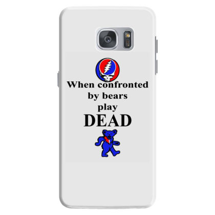 Bears Play Dead Samsung Galaxy S7 Case Designed By Pinkanzee