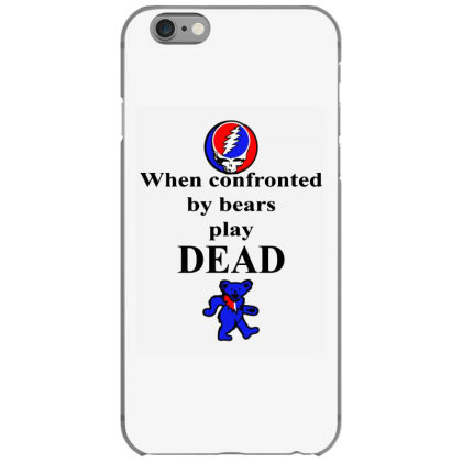 Bears Play Dead Iphone 6/6s Case Designed By Pinkanzee