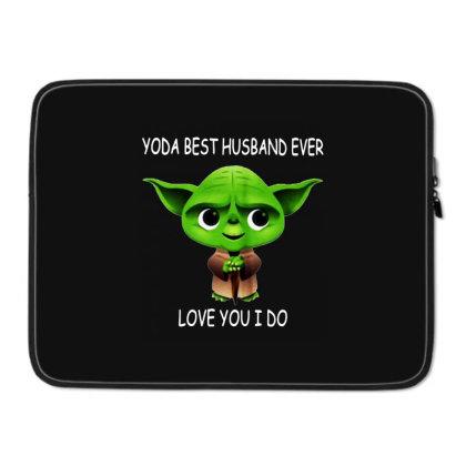 Yoda Best Husband Laptop Sleeve Designed By Pinkanzee