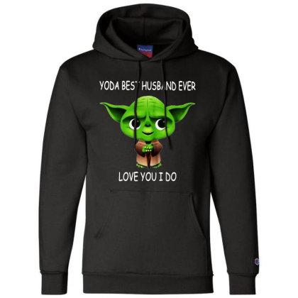 Yoda Best Husband Champion Hoodie Designed By Pinkanzee