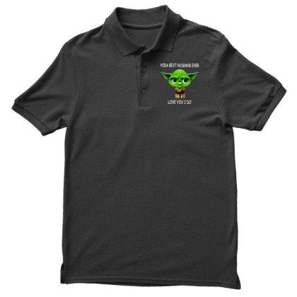 Yoda Best Husband Men's Polo Shirt Designed By Pinkanzee