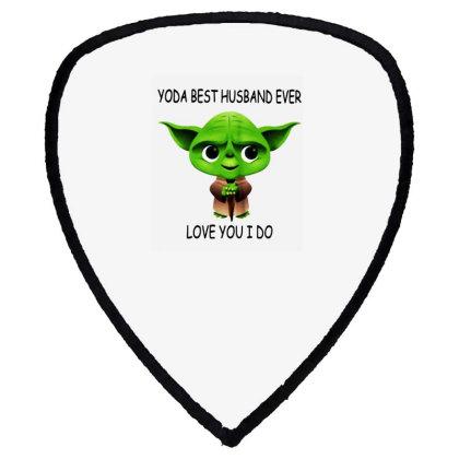 Yoda Best Husband Shield S Patch Designed By Pinkanzee