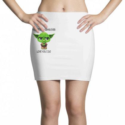 Yoda Best Husband Mini Skirts Designed By Pinkanzee