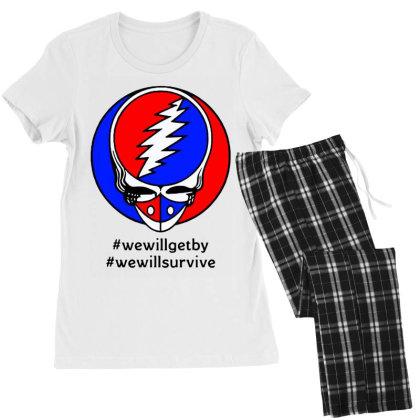 We Will Survive Women's Pajamas Set Designed By Pinkanzee