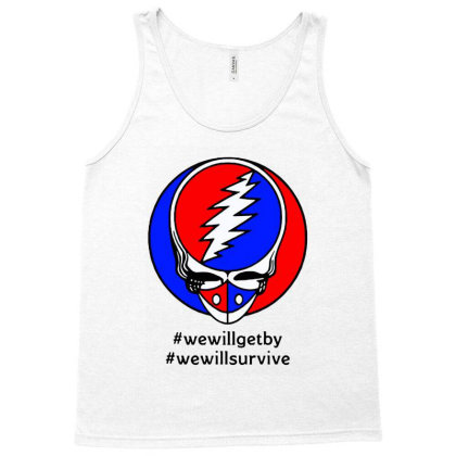 We Will Survive Tank Top Designed By Pinkanzee