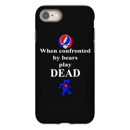 Bears Play Dead Iphone 8 Case Designed By Pinkanzee