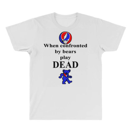 Bears Play Dead All Over Men's T-shirt Designed By Pinkanzee