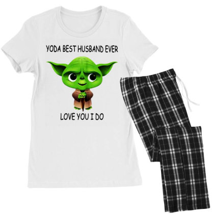 Yoda Best Husband Women's Pajamas Set Designed By Pinkanzee