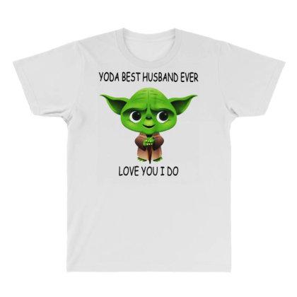 Yoda Best Husband All Over Men's T-shirt Designed By Pinkanzee