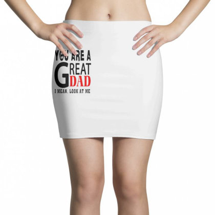Great Dad Mini Skirts Designed By Pinkanzee