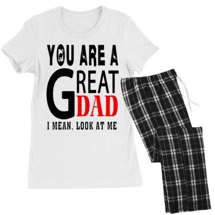 Great Dad Women's Pajamas Set Designed By Pinkanzee