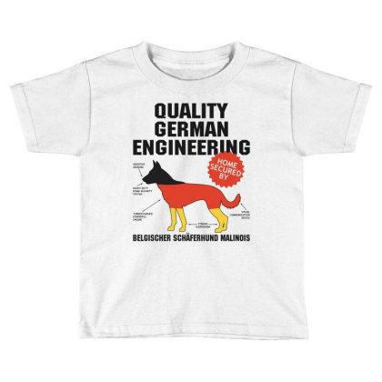 Quality German Engineering K9 Malinois Malenoa Toddler T-shirt Designed By Carambaart