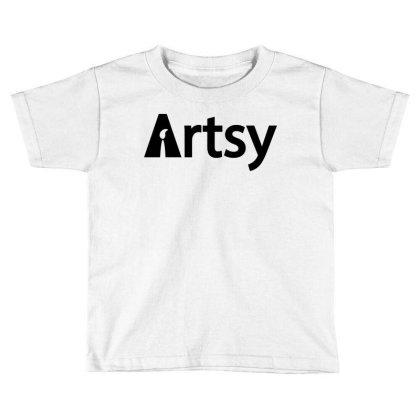 Artsy Toddler T-shirt Designed By Enjang