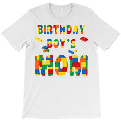 Building Block Mom Of Birthday Boy T Shirt T-shirt Designed By Cuser0105