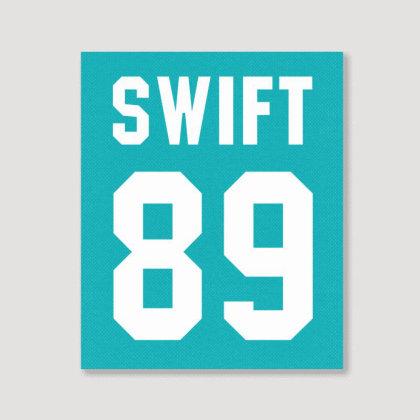 Taylor Swift Portrait Canvas Print Designed By Tshiart