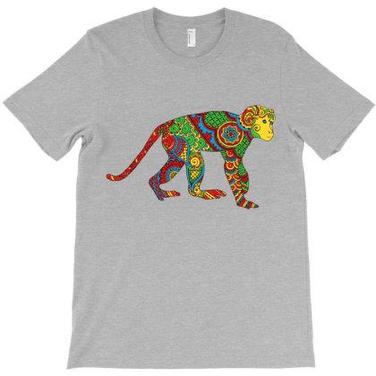 Ethnic Monkey T-shirt Designed By Chiks