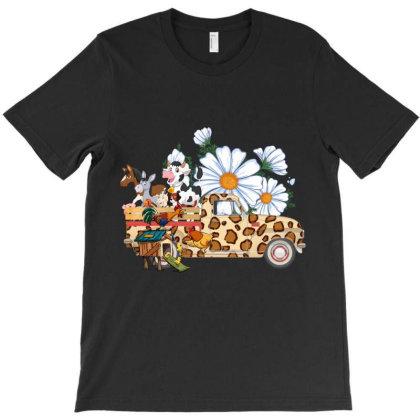 Farm Car Animal T-shirt Designed By Costom