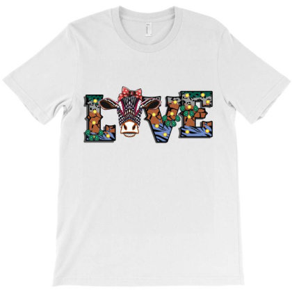Love Cow T-shirt Designed By Costom