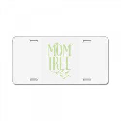Mom Tree unisex T-shirt love mom, funny mom, figure mom tree of the ho License Plate | Artistshot