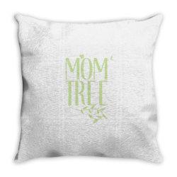 Mom Tree unisex T-shirt love mom, funny mom, figure mom tree of the ho Throw Pillow | Artistshot