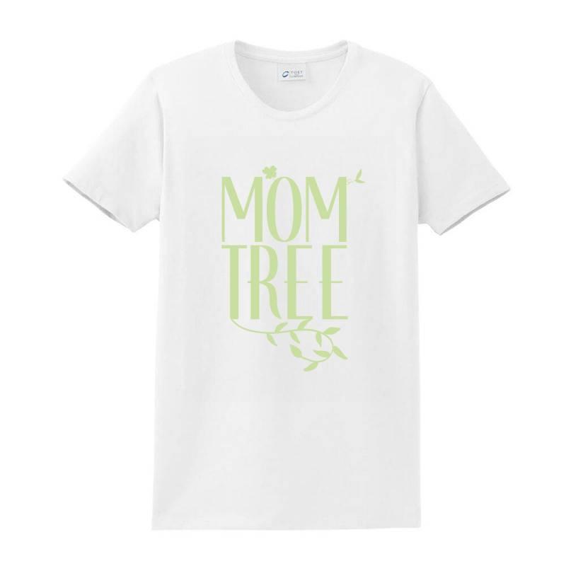 Mom Tree Unisex T-shirt Love Mom, Funny Mom, Figure Mom Tree Of The Ho Ladies Classic T-shirt | Artistshot
