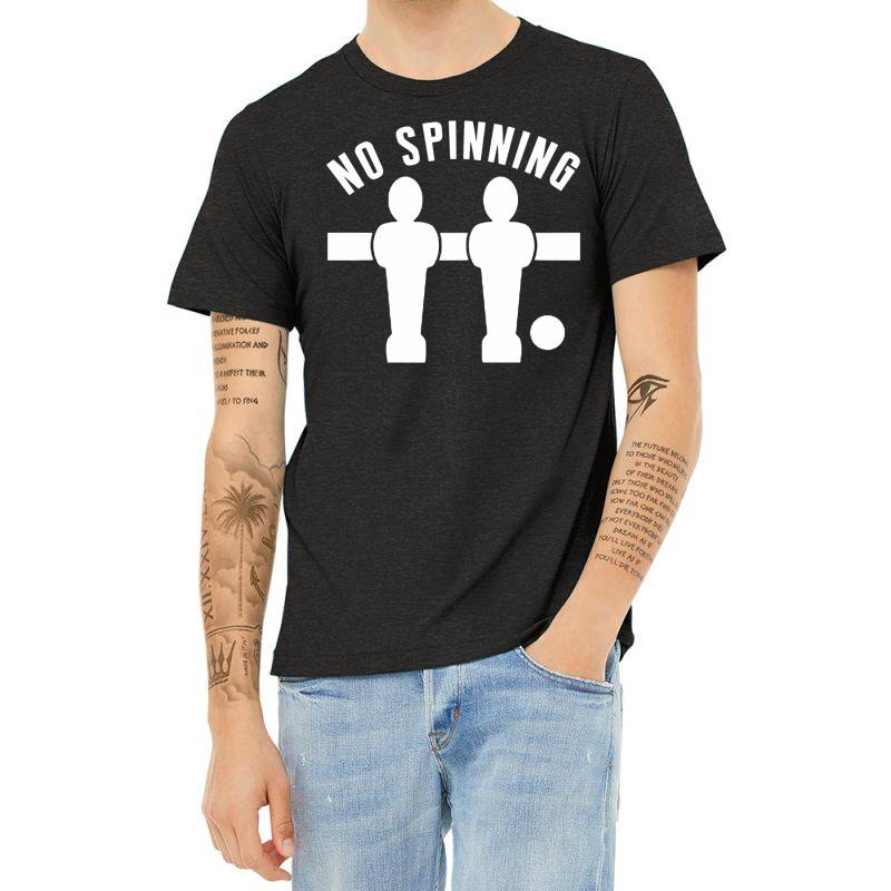 Table Football Foosball No Spinning Heather T-shirt | Artistshot