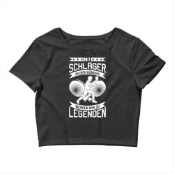 table tennis player legend table tennis Crop Top | Artistshot