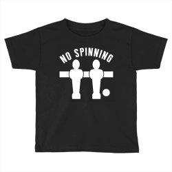 table football foosball no spinning Toddler T-shirt | Artistshot