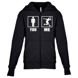 table tennis players are awesome Youth Zipper Hoodie | Artistshot
