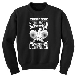 table tennis player legend table tennis Youth Sweatshirt | Artistshot