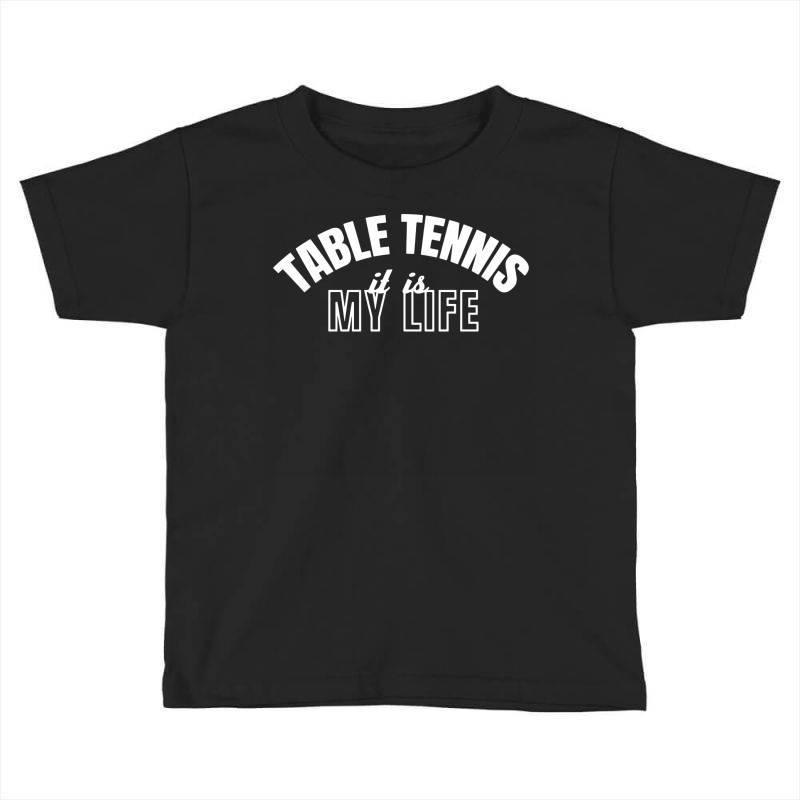 Table Tennis Toddler T-shirt | Artistshot