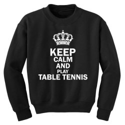 table tennis1 Youth Sweatshirt | Artistshot