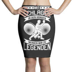table tennis player legend table tennis Pencil Skirts | Artistshot