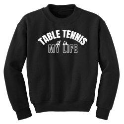 table tennis Youth Sweatshirt | Artistshot